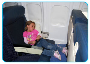 Sleep using the 1stClassKid+ Travel Pillow